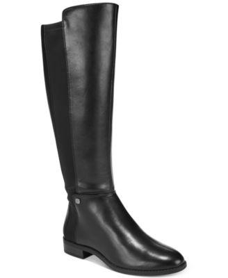Alfani Women's Step 'N Flex Pippaa Wide-Calf Tall Boots, Created for Macy's