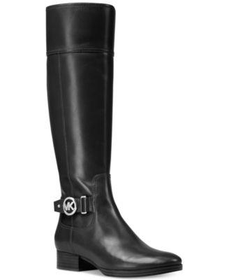 MICHAEL Michael Kors Harland Wide Calf Riding Boots