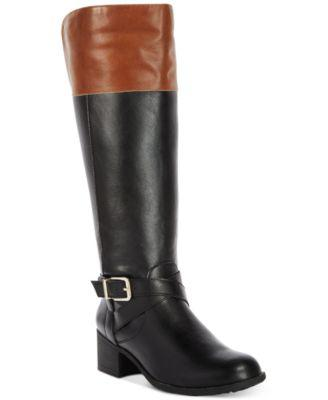 Style & Co Venesa Riding Boots, Created for Macy's