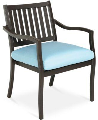 CLOSEOUT! Holden Aluminum Outdoor Dining Chair