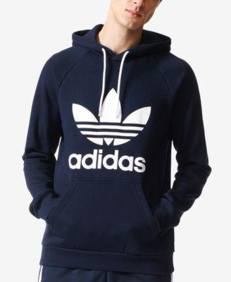adidas Originals Men's Fleece Trefoil Hoodie