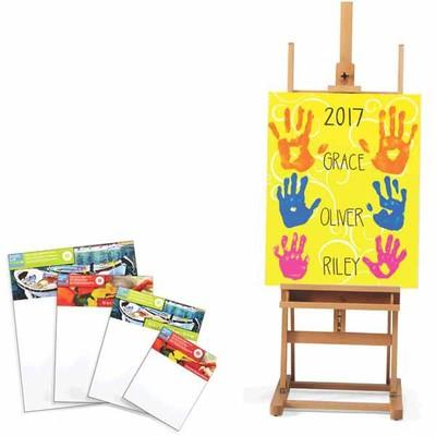 ALL Level 2 & 3 Gallery Wrapped Traditional & Heavy Duty Canvas and Easels