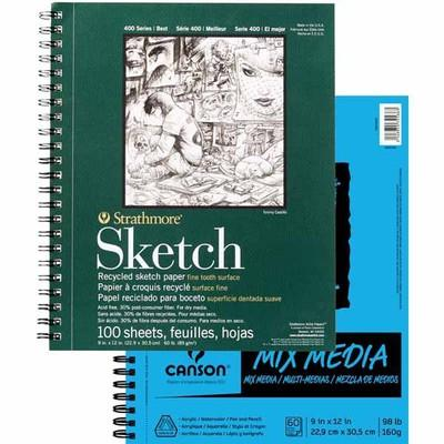 Strathmore® & Canson® Artist Paper Pads