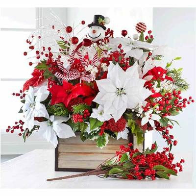 Christmas Stems, Bushes, & Floral Accents