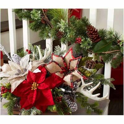 Christmas Stems, Bushes & Floral Accents