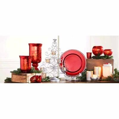 Christmas Candle Collection & Decorative Chargers