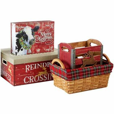 ALL Christmas Baskets & Decorative Boxes