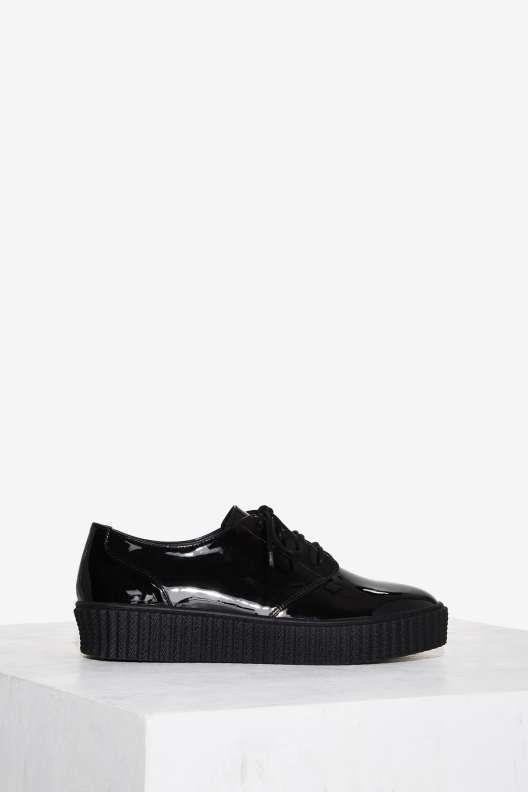 Shellys London Peter Patent Leather Oxford Shoe