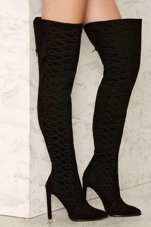 Jeffrey Campbell Sherise Over-the-Knee Boot