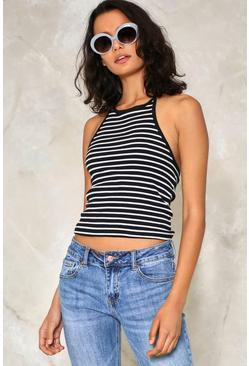 Not Your Business Striped Top