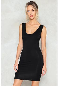 Out of the Scoop Bodycon Dress
