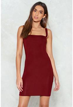 Without a Square in the World Mini Dress