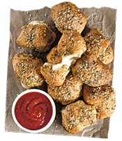 NEW Stuffed Garlic Knots