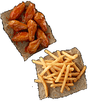 FREE Order of Fries with any Wing Purchase