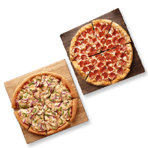 Online Only: The $4 Medium Pizza Deal