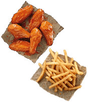 Individual Wing Meal
