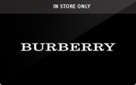 Burberry (In Store Only) Gift Cards
