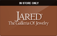 Jared (In Store Only) Gift Cards