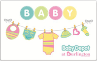 Baby Depot Gift Cards