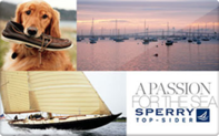 Sperry Top Sider Gift Cards