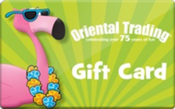 Oriental Trading Gift Cards