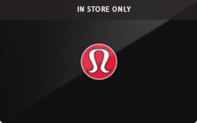 Lululemon (In Store Only) Gift Cards