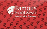 Famous Footwear Gift Cards