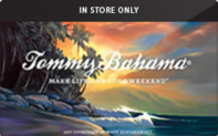 Tommy Bahama (In Store Only) Gift Cards