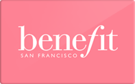 Benefit Cosmetics Gift Cards