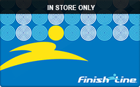 Finish Line (In Store Only) Gift Cards