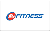 24 Hour Fitness Gift Cards