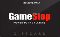 GameStop (In Store Only) Gift Cards
