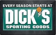 Dick's Sporting Goods Gift Cards