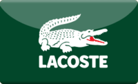 Lacoste Gift Cards