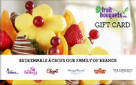 Fruit Bouquets Gift Cards