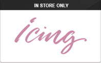 Icing (In Store Only) Gift Cards