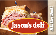 Jason's Deli Gift Cards