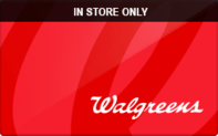 Walgreens (In Store Only) Gift Cards