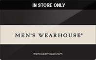 Men's Wearhouse (In Store Only) Gift Cards