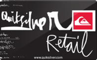 Quiksilver Gift Cards