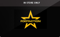 Footaction (In Store Only) Gift Cards