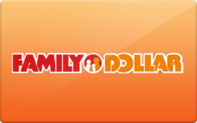 Family Dollar Gift Cards