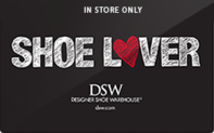 DSW (In Store Only) Gift Cards