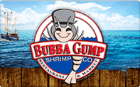 Bubba Gump Gift Cards