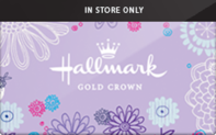 Hallmark (In Store Only) Gift Cards