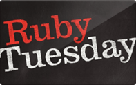 Ruby Tuesday Gift Cards