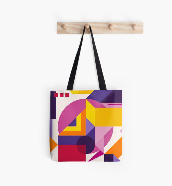 Abstract Modern Geometric Background Composition 14