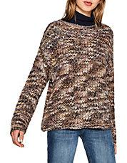 ESPRIT - Chunky Knit Wool-Blend Sweater