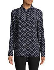 TOMMY HILFIGER - Printed Button-Down Shirt