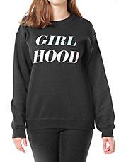 ADOLESCENT CLOTHING - Girl Hood Sweater
